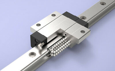 WONST Standard Linear Motion Guide Two LM Blocks and One 1000mm Rail Set