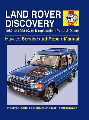 Reparaturhandbuch Land Rover Discovery 89, 90, 91, 92, 93, 94, 95, 96, 97 & 98