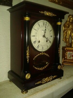 "Pendule Horloge Style ""empire"" Mouvement Vedette"