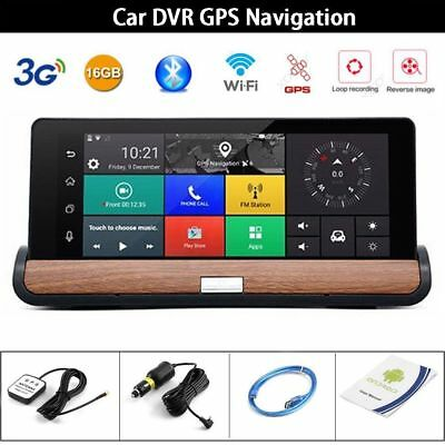 "7"" Wifi Car DVR GPS Navi HD 1080P Rearview possible Camera Dash Cam Recorder"
