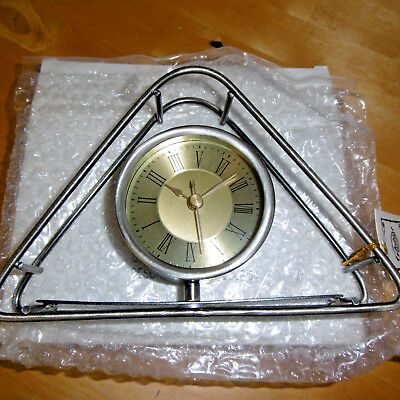 Missionary Auction New Boxed Simplistic Metal Clock