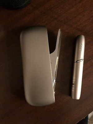 iqos Used With Charger Gold Color
