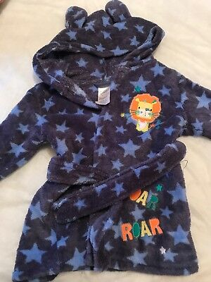 6-9 Months Boys Dressing Gown
