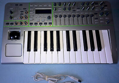 Novation X-Station - USB Midi Keyboard, mit Sounds, Effekte und Audio-Interface