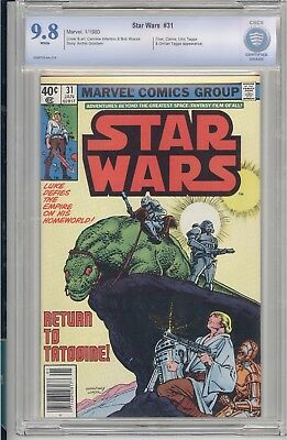 Star Wars #31 CBCS 9.8 NM/MT White pages Marvel 1980