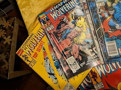 21 issue marvel comics wolverine lot