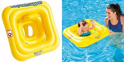 Bestway Baby Seat 0-12 Month Swim Safe Support Swimming Aid Inflatable