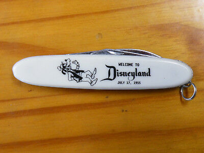 Disneyland Pocketknife, July 17 1955, Goofy