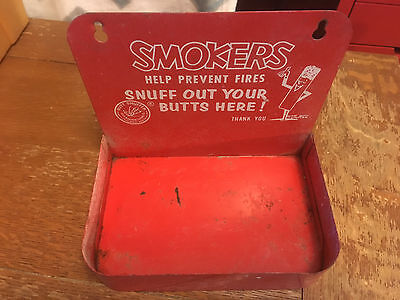 Butt Snuffer  METAL CIGARETTE ASHTRAY MR. BUTT SNUFFER