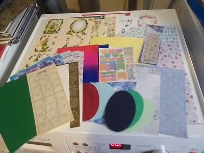 Package With Hobbycrafts For Making Cards Mix New (Hc807)