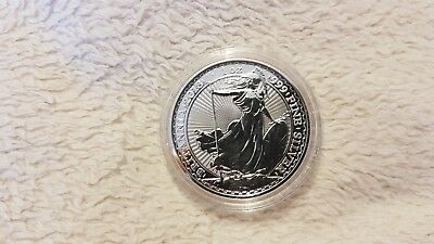 2018 UK Britannia Oriental Border 1oz 999 Silver Coin in Capsule (Lot 8)