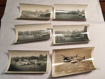 Lot of World War 2 Era Photos~Dead Planes~Shot Down~In Flight Photo~Rudy Arnold