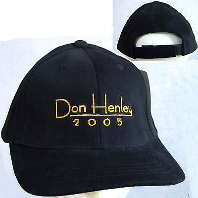 Don Henley 2005 Embroidered Baseball Hat Cap New Eagles Official