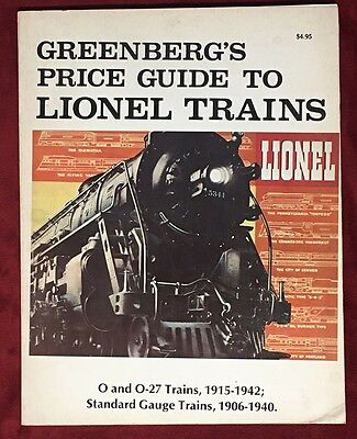 1977 GREENBERG'S Price Guide to LIONEL TRAINS -O & O-27 Trains, Standard Gauge