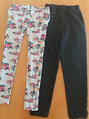 Girls Tezenis black trousers & leggings 11-12yrs bundle