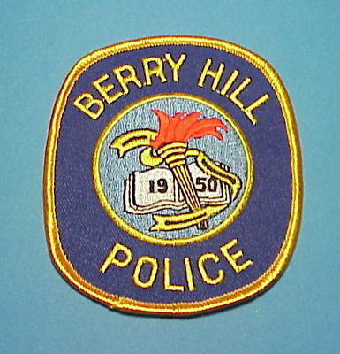 Berry Hill  Tennessee  1950  Tn   Police Dept. Patch  Free Shipping!!!