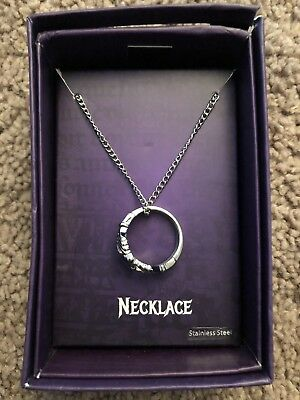 Official Buffy The Vampire Slayer Claddagh Ring Necklace Prop Replica Gift
