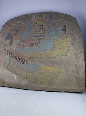RARE ANCIENT EGYPTIAN ANTIQUE ISIS Stela Stone 1758-1458 Bc