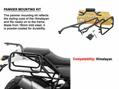 100% Royal Enfield Himalayan Pannier Rails Genuine