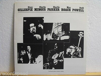 """★★ 12"""" LP  GILLESPIE / MINGUS / PARKER / ROACH / POWELL - At The Massey Hall ´53"""