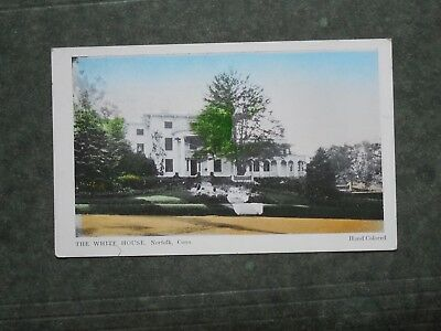 Post Card  K85905  Norfolk, CT  The White House  c-unknown