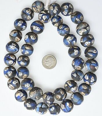 """24"""" Strand Face Beads from the African Trade"""