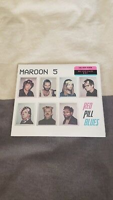 Brand New Sealed Maroon 5 Red Pill Blues Album Cd 2017 Interscope Sza A$Ap Rocky