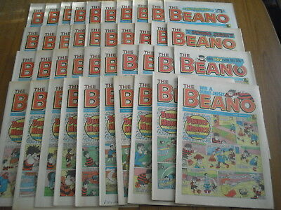 40 x BEANO COMICS - ALL FROM 1986