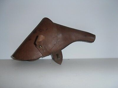 Etui Holster Officier Anglais British Webley Ww1 Ww2 No Casque