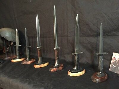 Bayonet Stands for WWI,WWII,Vietnam, & Korean era Bayonets. US-M1, K98k types