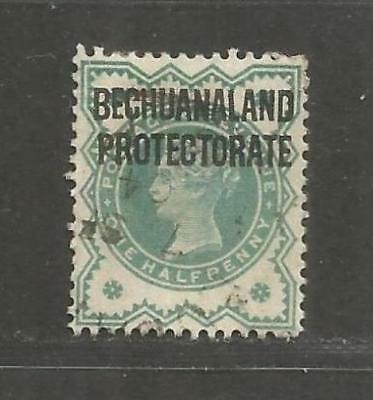 British Bechuanaland 1902 Queen Victoria 1/2d blue green used -  see scan