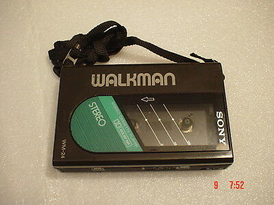 SONY WM-24 - Vintage Walkman (Bj.ca.1987)