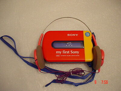 "SONY WM-3500 "" My First Sony "" -  Kinder Walkman + Philips Kopfhörer"