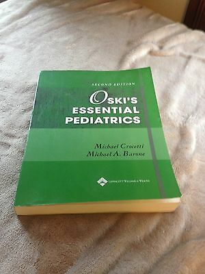 Oski's Essential Pediatrics a good text book ,gift ready