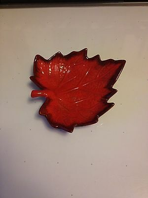 Candy dish maple leaf 7 inch perfect leaf