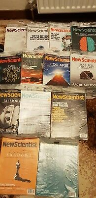 New Scientist Magazine Collection  Febuary 2012 to Febuary 2013 ( 54 copies )