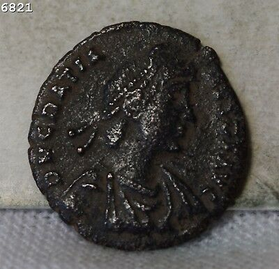Gration 367-383 A.D. Ancient Coin *Free S/H After 1st Item*