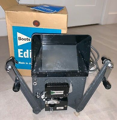 Boots Cine Editor 3 for Super 8 movie editing