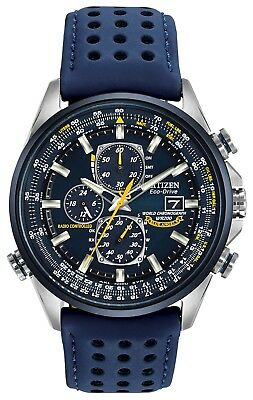Citizen Blue Angels Eco-Drive Radio Controlled Chronograph Mens Watch AT8020-03L
