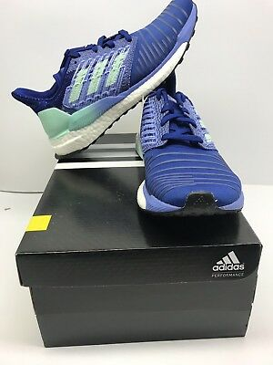 9e138fbbc Adidas Solar Boost Women s Size 7 Mystery Ink Mint Lilac Free Shipping!  BB6602