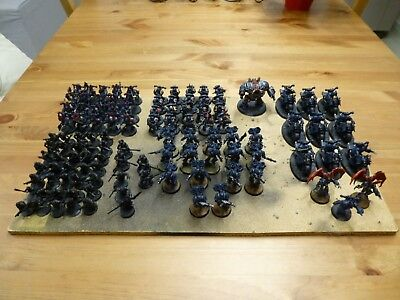 Chaos Space Marine Night Lords Armee 34
