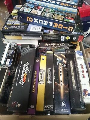 79 PC Spiele Games Big Box Euro Box Collection Konvolut Sammlung Retro