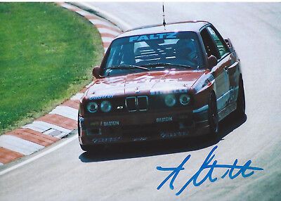 Arnold Mattschull - BMW M3 Evo  - DTM - 1989 - orgin sign!!!!