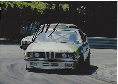 Harald Grohs - BMW 635 CSi - DTM - 1984 - orgin sign!!!!