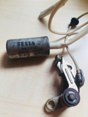 Tesla Capacitor Motorcycle Ignition Part Or Ignition Coil WK717 26/28? 250nF L-X