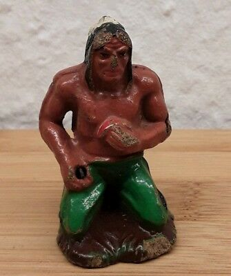Elastolin ? Wild West 7cm Masse Figur  Indianer.
