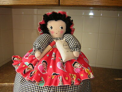 ~~TOASTER COVER DOLL~~2 slice toaster~~Kitchen Decor~~~BETTY BOOP DECOR~~
