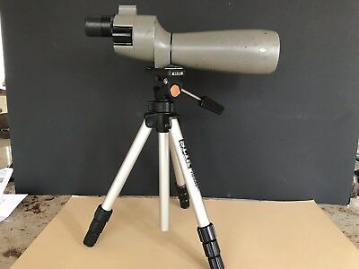 Bushnell Space Master II & Tripod Spotting Scope 0-50mm 16 x 48 0 to 60mm 20-60