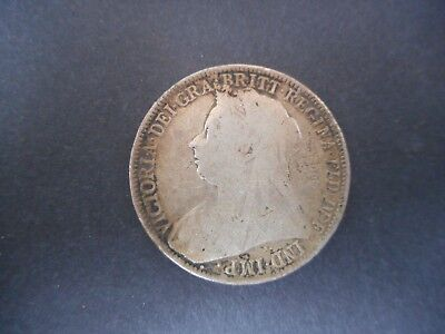 Great Britain 1901 Two Shilling Coin