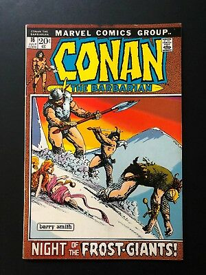 Conan The Barbarian#16-1972 MARVEL BRONZE AGE COMICS-SEE MY STORE